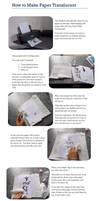 Translucent Paper Tutorial
