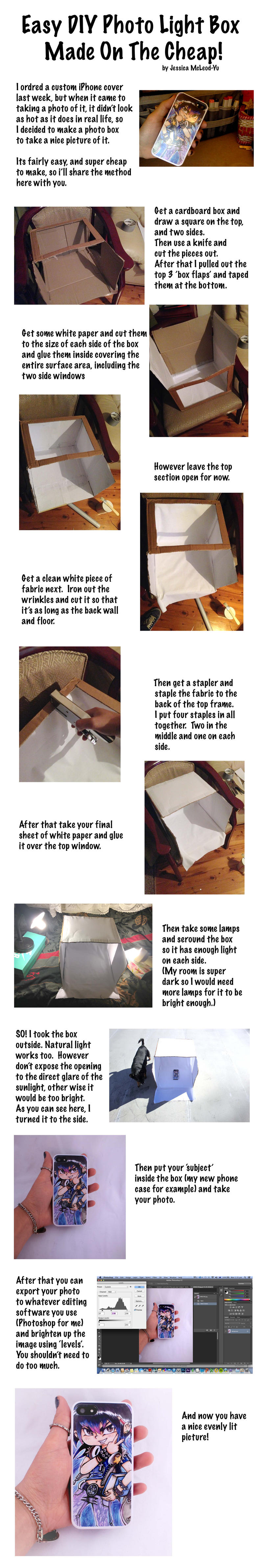 Easy diy photo light box made on the cheap by rocket child for How to make a cheap rocket