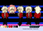 Character Model Sheet - Izzy