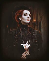 Portrait of Mistress by Kiorsa