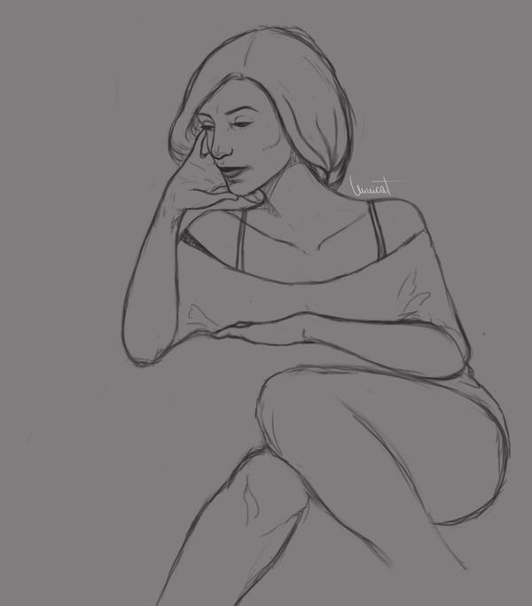 Random Sketch by MyMimicat