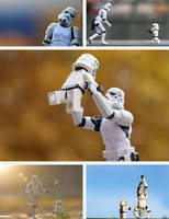 Stormtrooper Dad and Kid by DXvsNWO1994