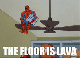 60's Spider-Man - The Floor is Lava by DXvsNWO1994