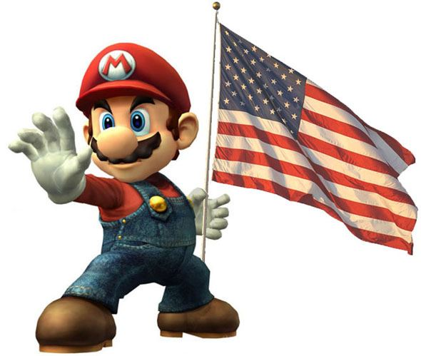 Mario = Real American??? by DXvsNWO1994