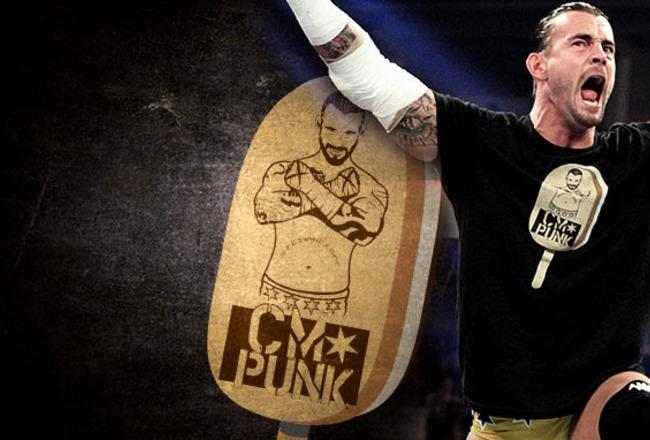 CM Punk Ice Cream Bar by DXvsNWO1994