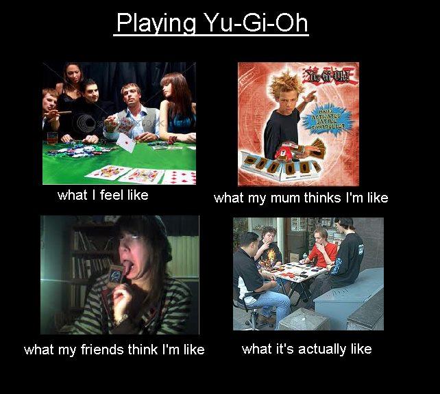 Playing Yu-Gi-Oh! by DXvsNWO1994