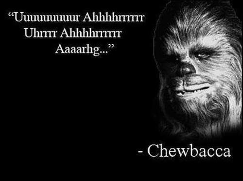 Chewbacca - Wise Words by DXvsNWO1994