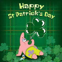 Happy St. Patrick's Day......from Patrick Star by DXvsNWO1994