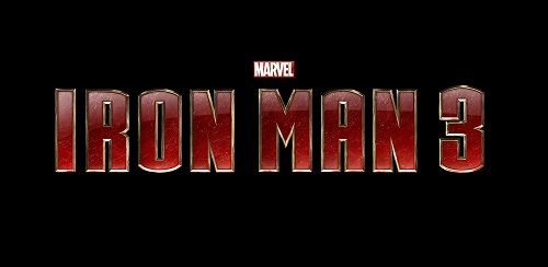 Iron Man 3 Logo by DXvsNWO1994