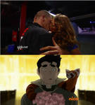Bolin walks in on John Cena and Eve during Raw