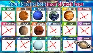 What if planets were pokemon? (meme)