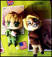 APH America and England Charms by colormedisturbed