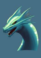 Water dragon by Garlegas
