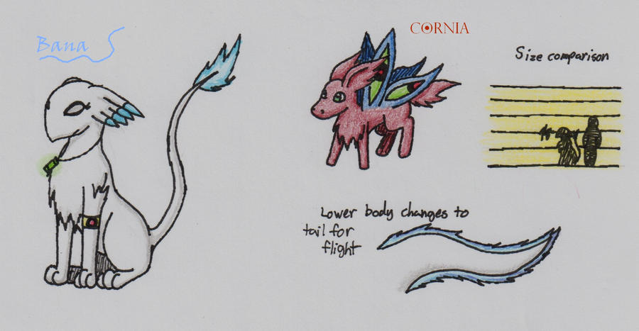New Bana and Cornia Ref. by Ceata88 on DeviantArt