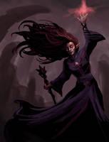 Dungeons n' Dragons Warlock by ScrawnySquall