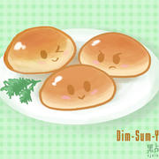 Dim-Sum-YUM: Pork Buns by ScrawnySquall
