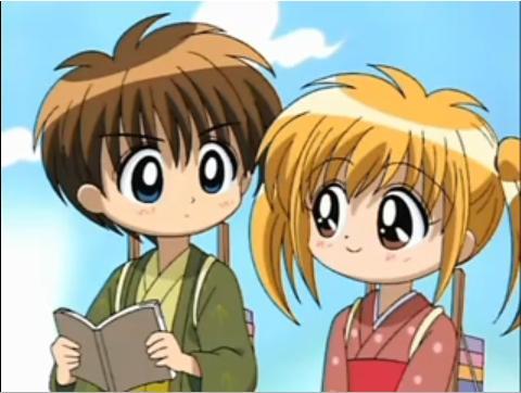 Setsu Yuuki and Kaede Minami by Hikari-no-Sora