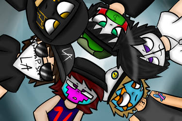 Hollywood Undead by ThatsWhiskyToYou
