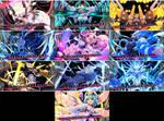 Gunvolt 3 - All bosses cutscenes