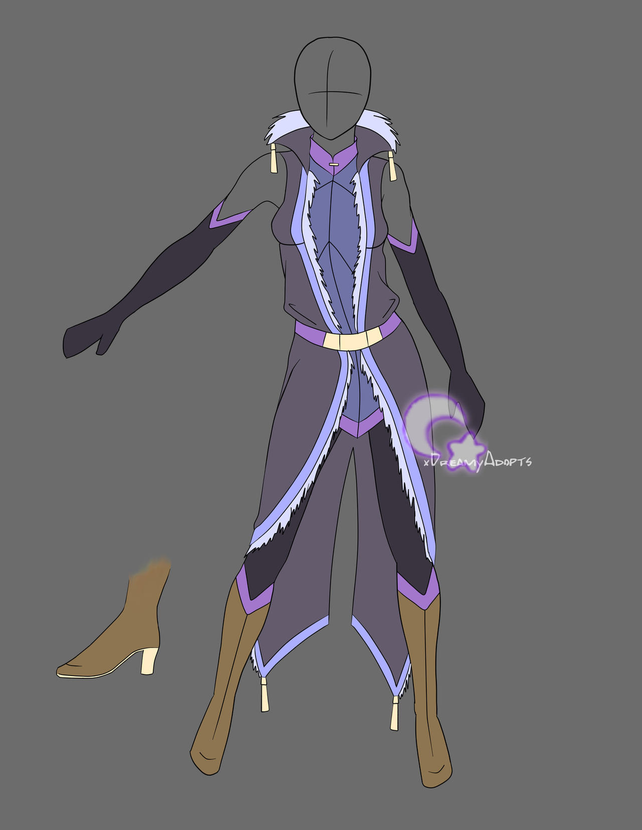 Clothing Adoption Auction: Modern Mage (CLOSED) By