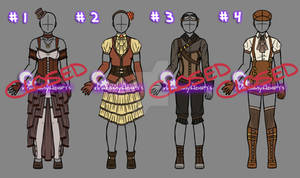 Clothing Adopts - Steampunk (CLOSED)