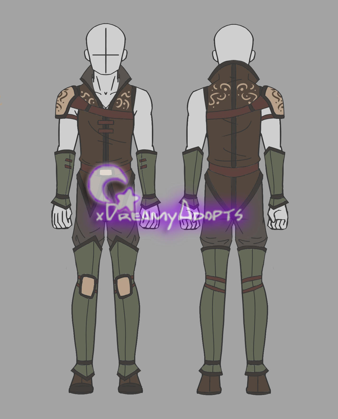 Clothing Auction Male Fantasy Outfit (CLOSED) by xDreamyDesigns on DeviantArt
