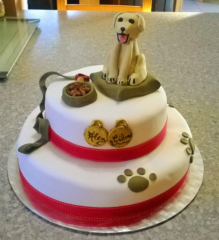 Labrador cake by chookki