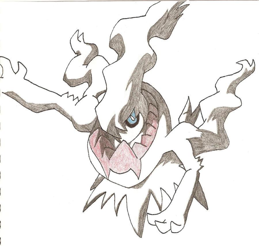 Darkrai legendary pokemon by yeaboikat