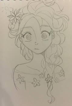 Elsa in springtime