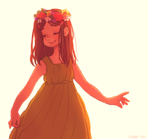 flower crown by MerryMarmalade