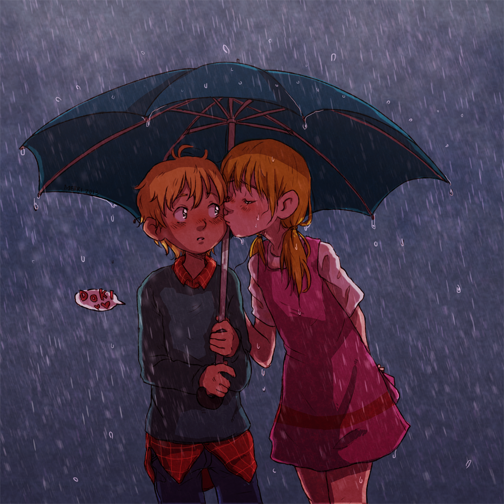 umbrella by MerryMarmalade