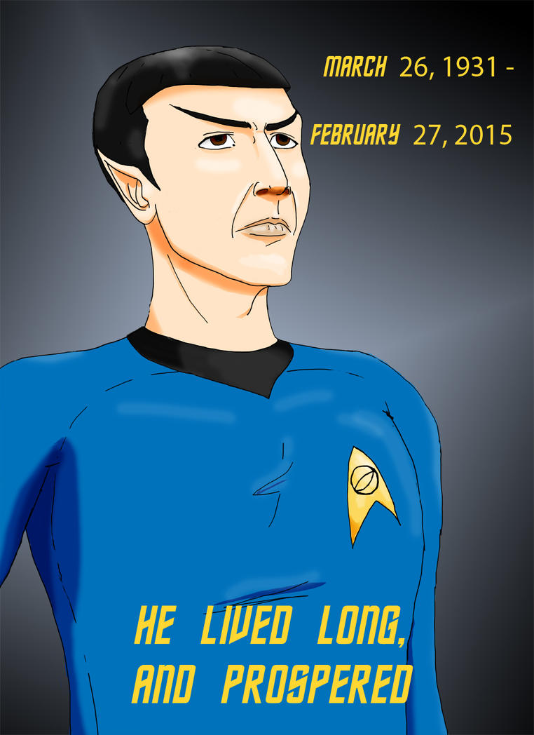 Spock Tribute by Lascas