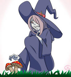 Jul-Eye Challenge Day 1 - Witch - Sucy