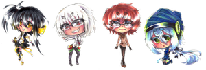 UTAU Chibis -Set 9- by shinamiEBA