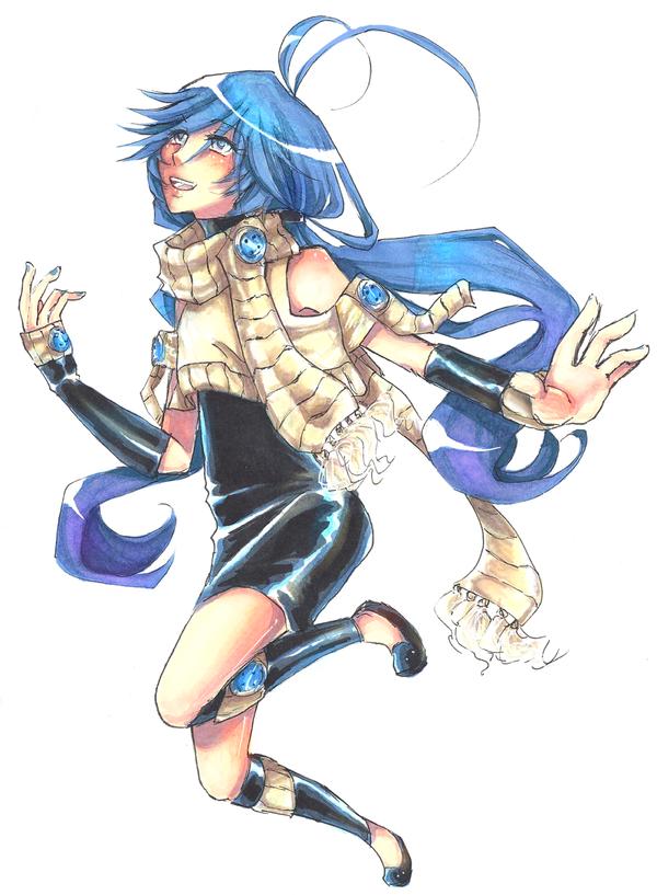 -AT- Kazune Kazumi Redesign by shinamiEBA