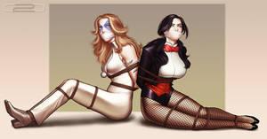 Showgirls In Danger