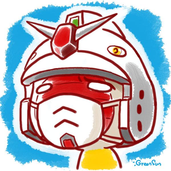 Gundam RX-78-02 by GreenSun2012