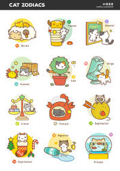 Cat Zodiacs