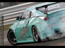 Nissan 350Z Drift by MauricioMassami