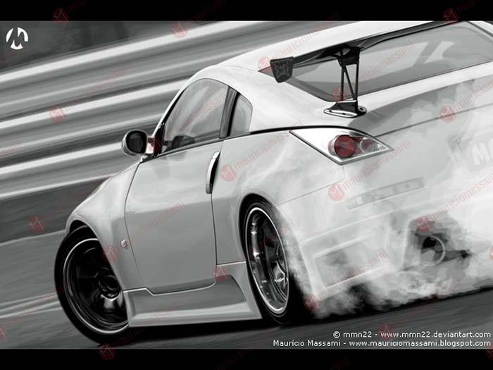 Nissan 350z Drift Pb By Mauriciomassami On Deviantart