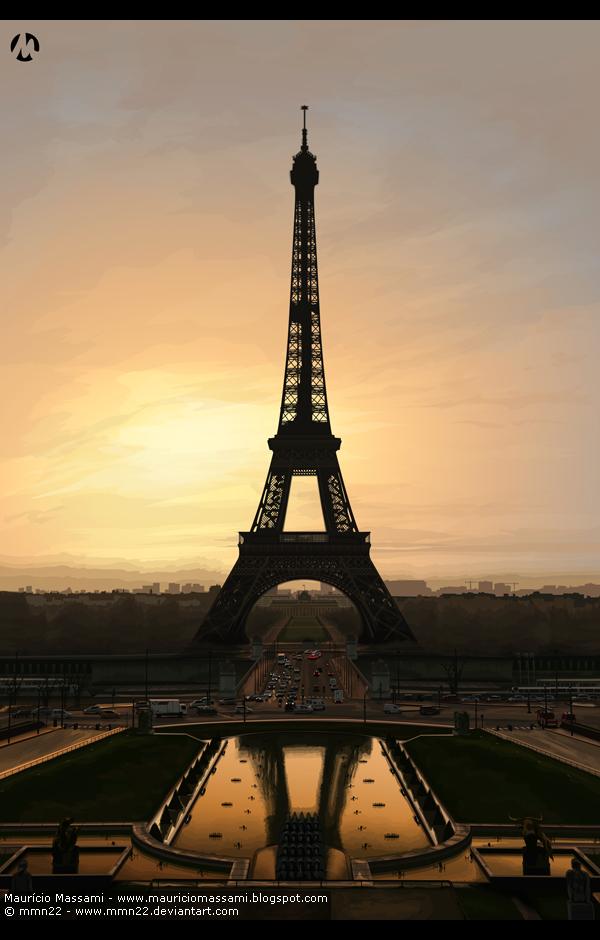 Eiffel Tower by MauricioMassami