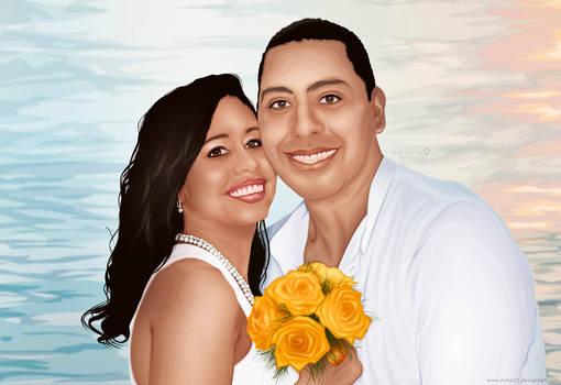 Alexandre e Fabiana - Detalhes