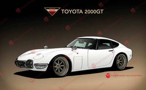Toyota 2000GT by MauricioMassami