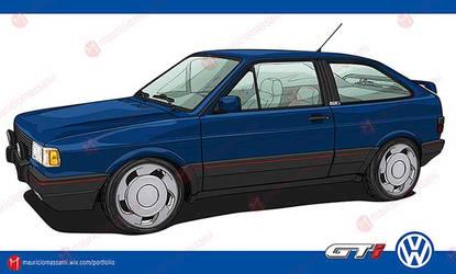 Volkswagen Gol GTi 1991 by MauricioMassami