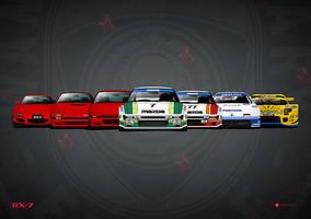 History Mazda RX7 by MauricioMassami