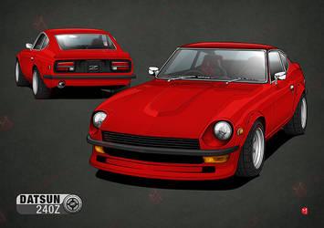 Datsun 240Z by MauricioMassami