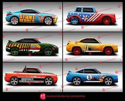 Illustration Cars - Game