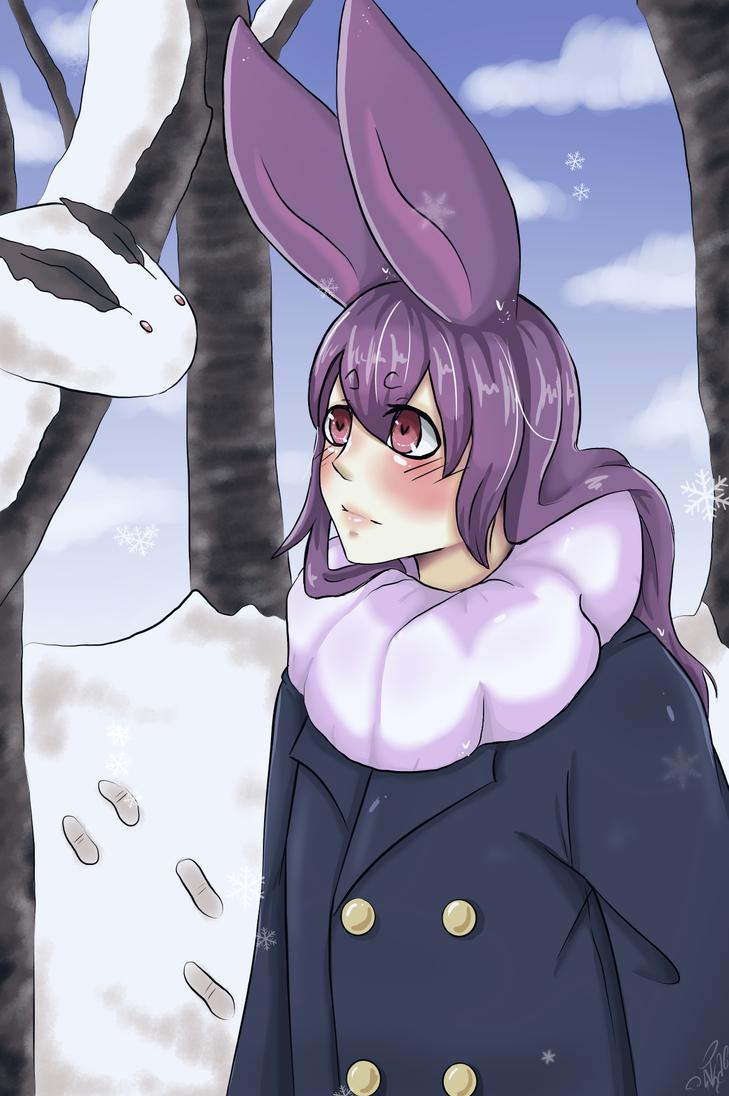 Fnaf- Winter Bonnie by mimifreiheil