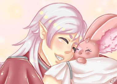 Aion- pet hug by mimifreiheil