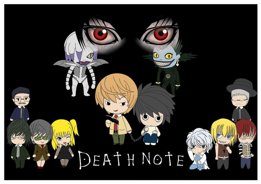 Death Note Characters Wallpaper Chibi | www.imgkid.com ...